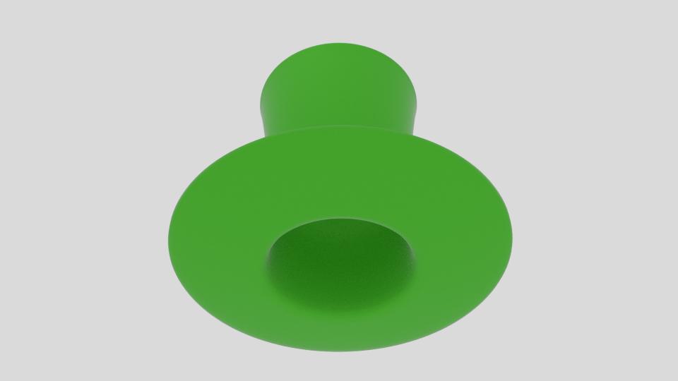 Wacky leprechaun hattur 3d líkan blanda 216689