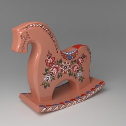 Souvenir horse ( 423.07KB jpg by 1ron_woodcutter )