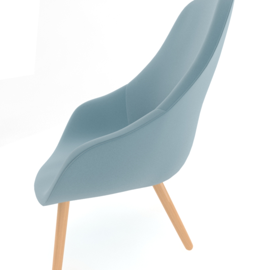 about a lounge chair aal92 3d model max fbx obj 216780