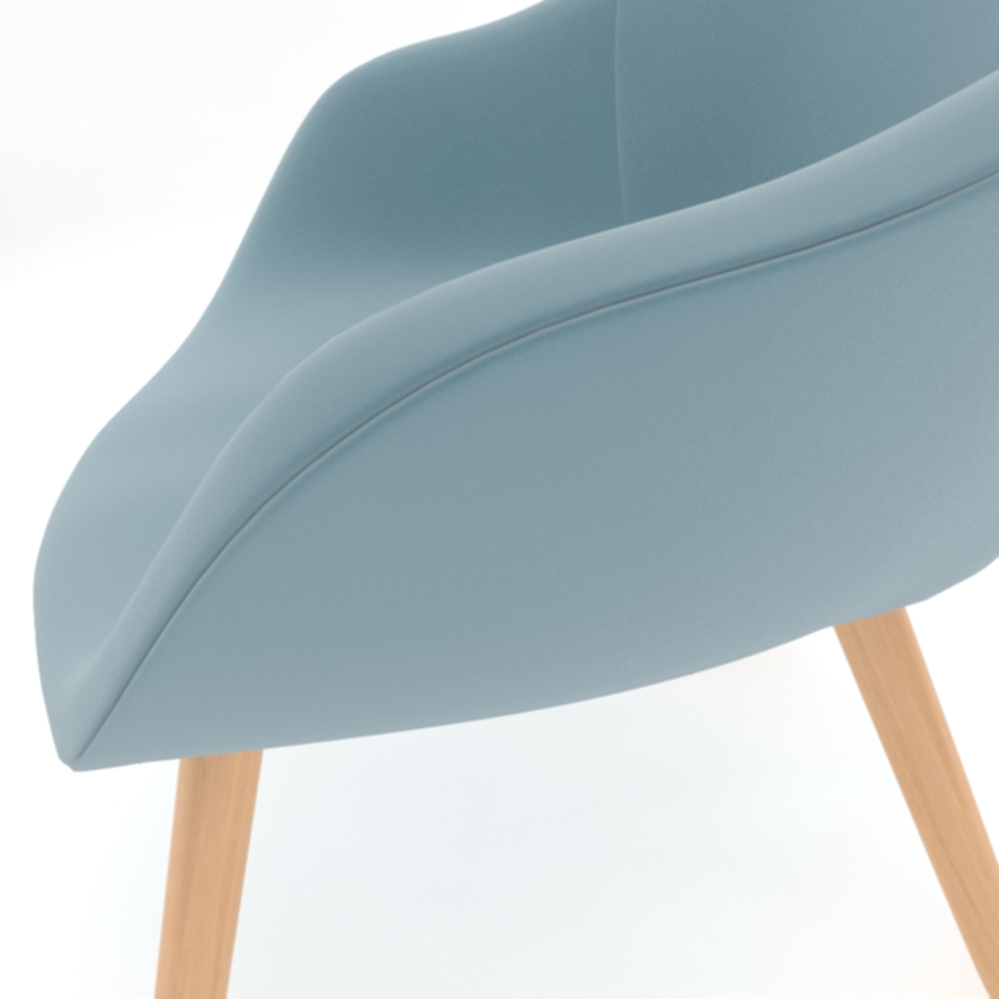 about a lounge chair aal92 3d model max fbx obj 216783