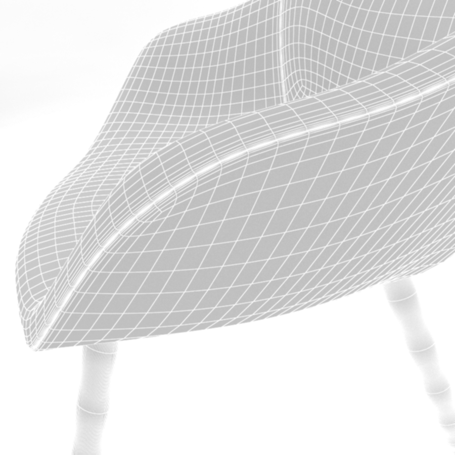 about a lounge chair aal92 3d model max fbx obj 216784