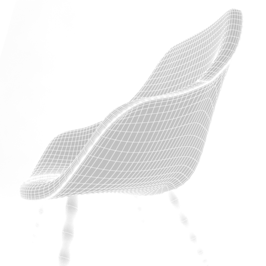 about a lounge chair aal92 3d model max fbx obj 216785
