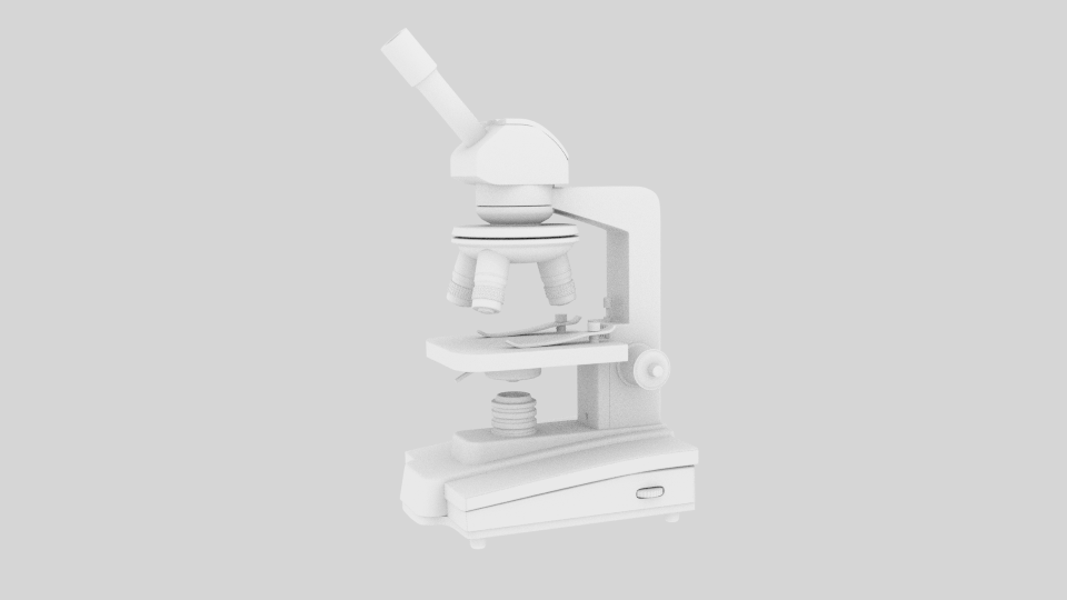 microscope 1 3d model blend 216810