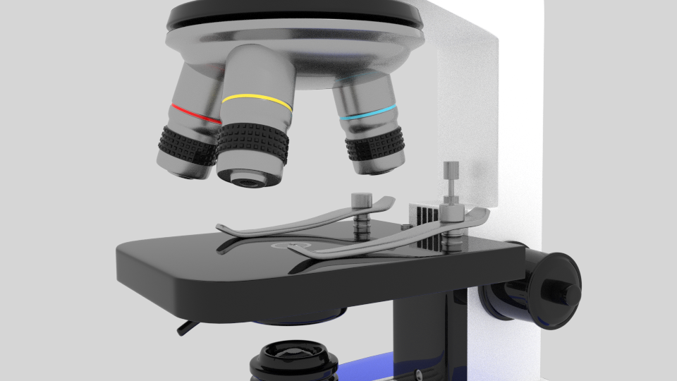 microscope 1 3d model blend 216812