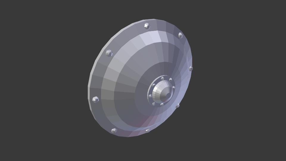 Shield of Ptolos 3d model blend 216825