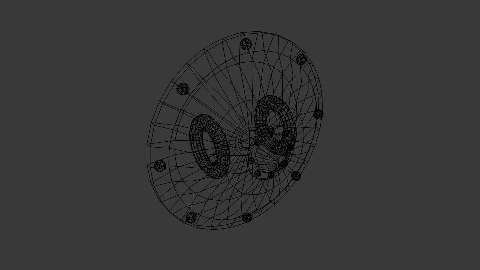 Shield of Ptolos 3d model blend 216826