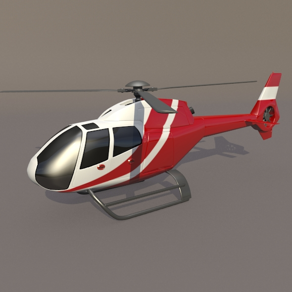 eurocopter colibri ec-120b helicopter 3d model 3ds fbx blend dae lwo obj 216952