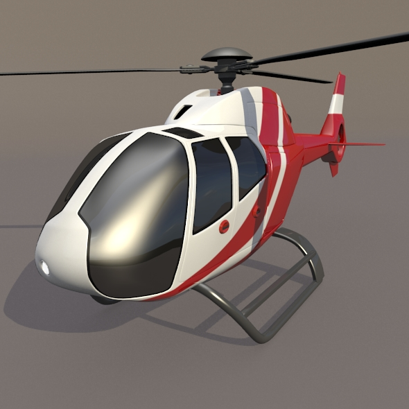 eurocopter colibri ec-120b helicopter 3d model 3ds fbx blend dae lwo obj 216954
