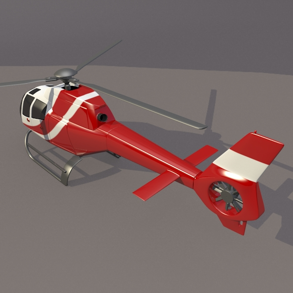 Eurocopter Colibri EC-120B helicopter ( 161.93KB jpg by futurex3d )