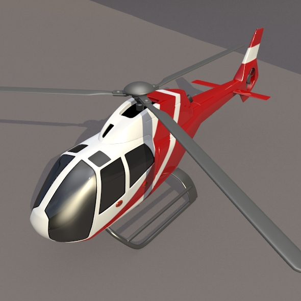 Eurocopter Colibri EC-120B helicopter ( 167.23KB jpg by futurex3d )