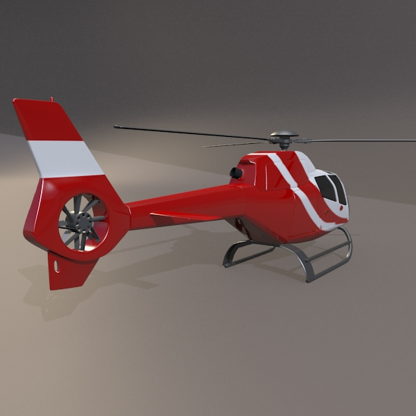 Eurocopter Colibri EC-120B helicopter ( 153.33KB jpg by futurex3d )
