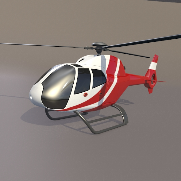 eurocopter colibri ec-120b helicopter 3d model 3ds fbx blend dae lwo obj 216960