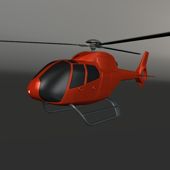 eurocopter colibri ec-120b helicopter 3d model 3ds fbx blend dae lwo obj 216962