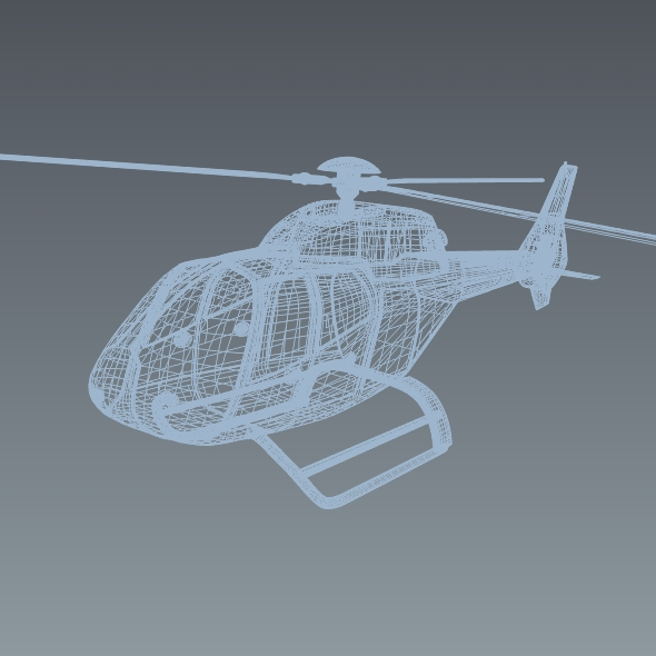 eurocopter colibri ec-120b helicopter 3d model 3ds fbx blend dae lwo obj 216963