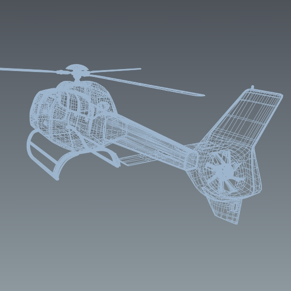eurocopter colibri ec-120b helicopter 3d model 3ds fbx blend dae lwo obj 216964