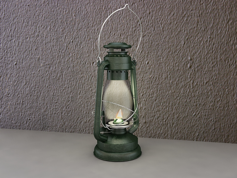 storm lantern 3d model max 216984