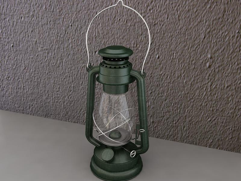 storm lantern 3d model max 216987