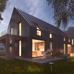 Vray Night Scene - Rendering Modern House tutorial ( 1216.15KB jpg by 5starsModels )