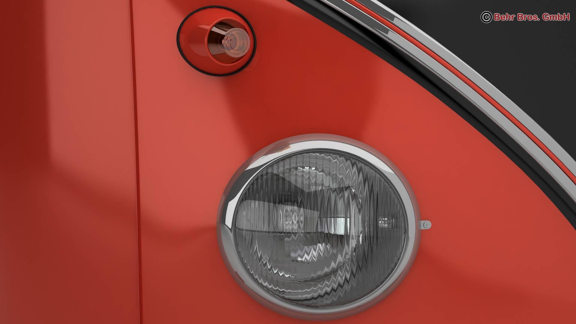 volkswagen type 2 samba 1959 3d model 3ds max fbx c4d lwo ma mb obj 217114