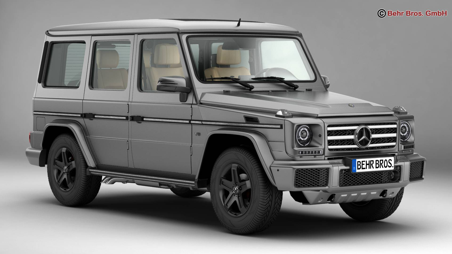 mercedes g class g500 2016 3d model buy mercedes g class g500 2016 3d model flatpyramid. Black Bedroom Furniture Sets. Home Design Ideas