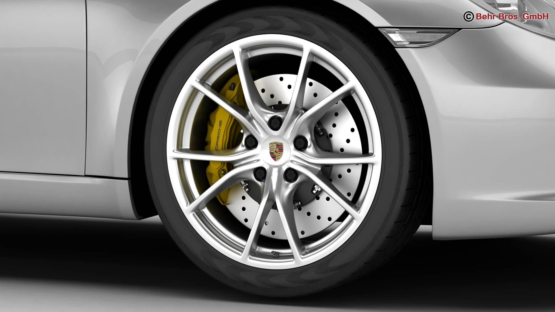 porsche 911 carrera 2017 3d model 3ds max fbx c4d lwo ma mb obj 217283