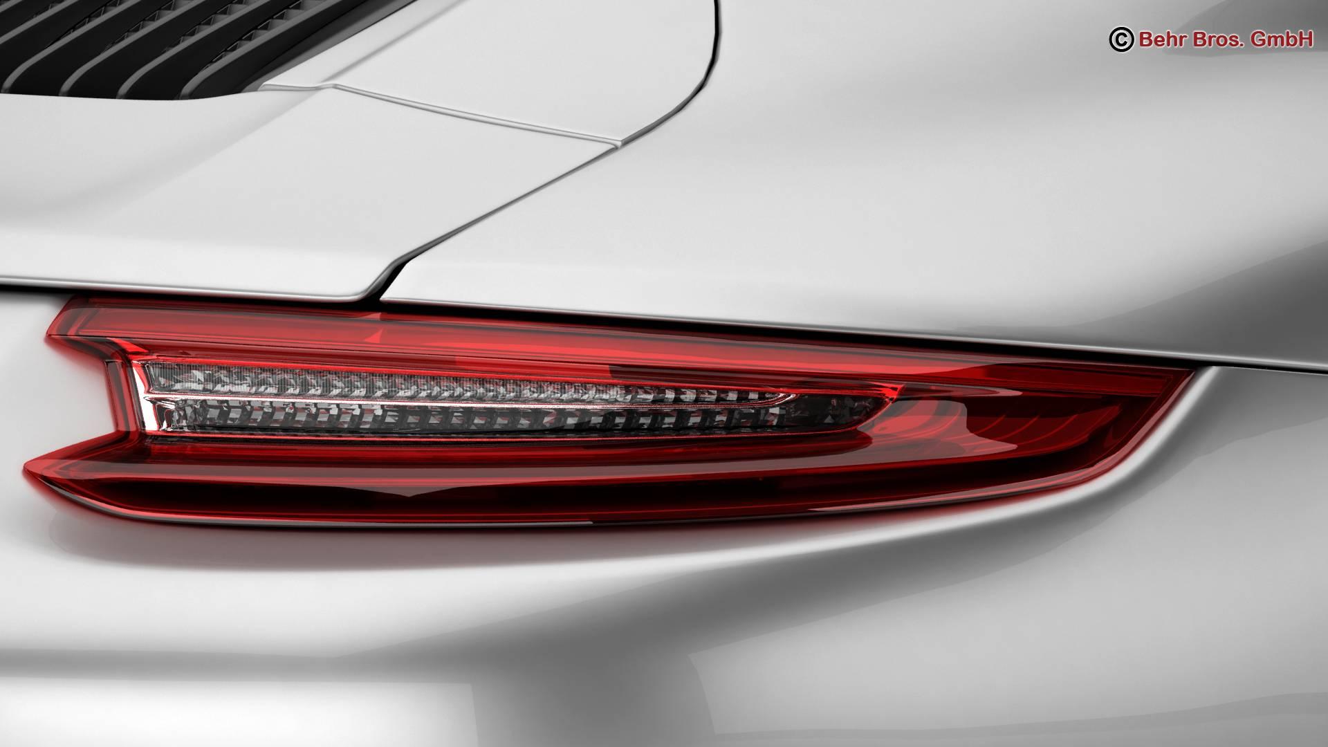 porsche 911 carrera 2017 3d model 3ds max fbx c4d lwo ma mb obj 217285