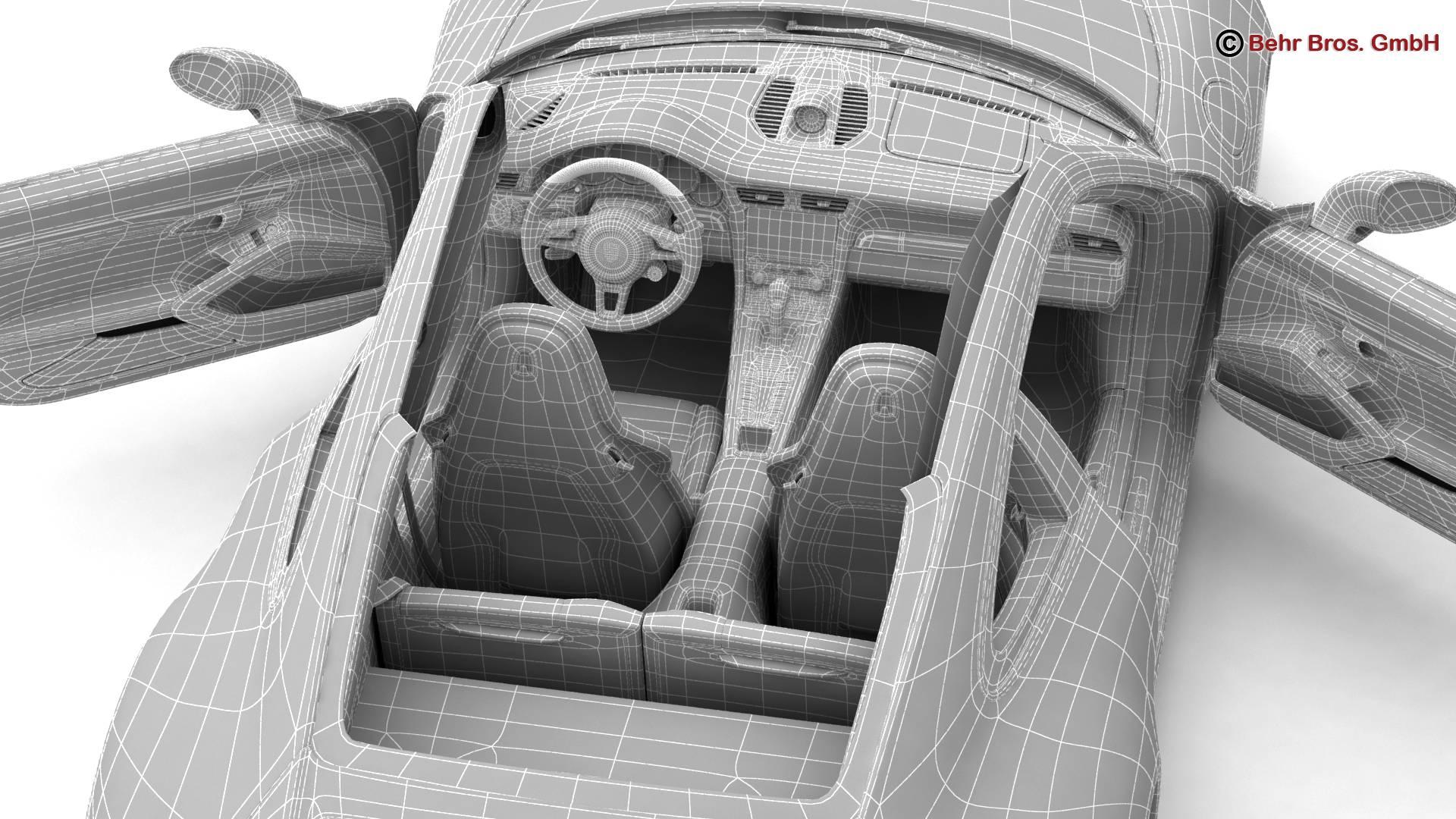 porsche 911 carrera 2017 3d model 3ds max fbx c4d lwo ma mb obj 217302