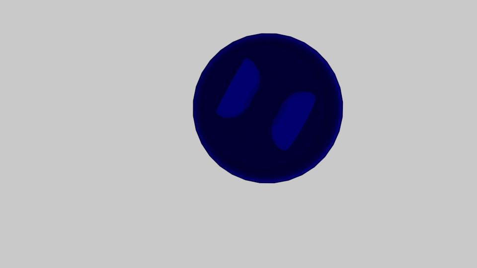police siren 3d model blend 217371