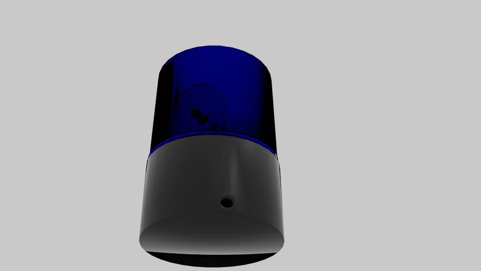 police siren 3d model blend 217372