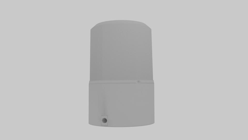 police siren 3d model blend 217373
