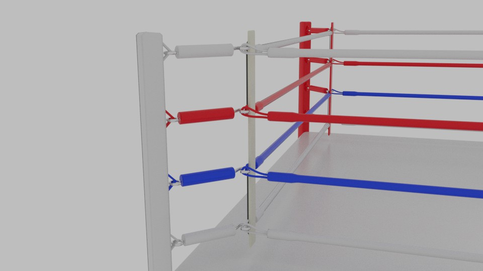 boxing rings 3d model blend 217413