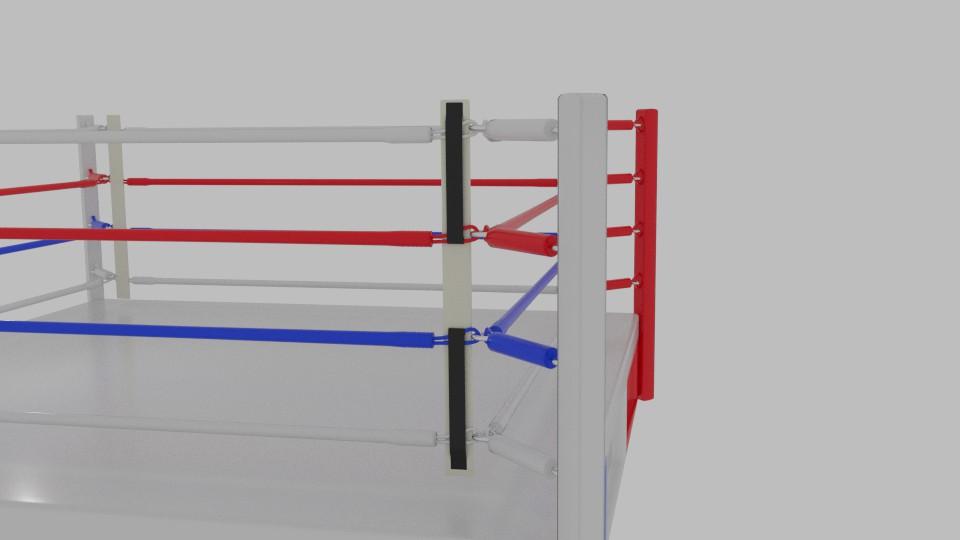 boxing rings 3d model blend 217414