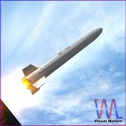 BP-12A Missile 3d model 3ds dxf fbx blend cob dae X obj