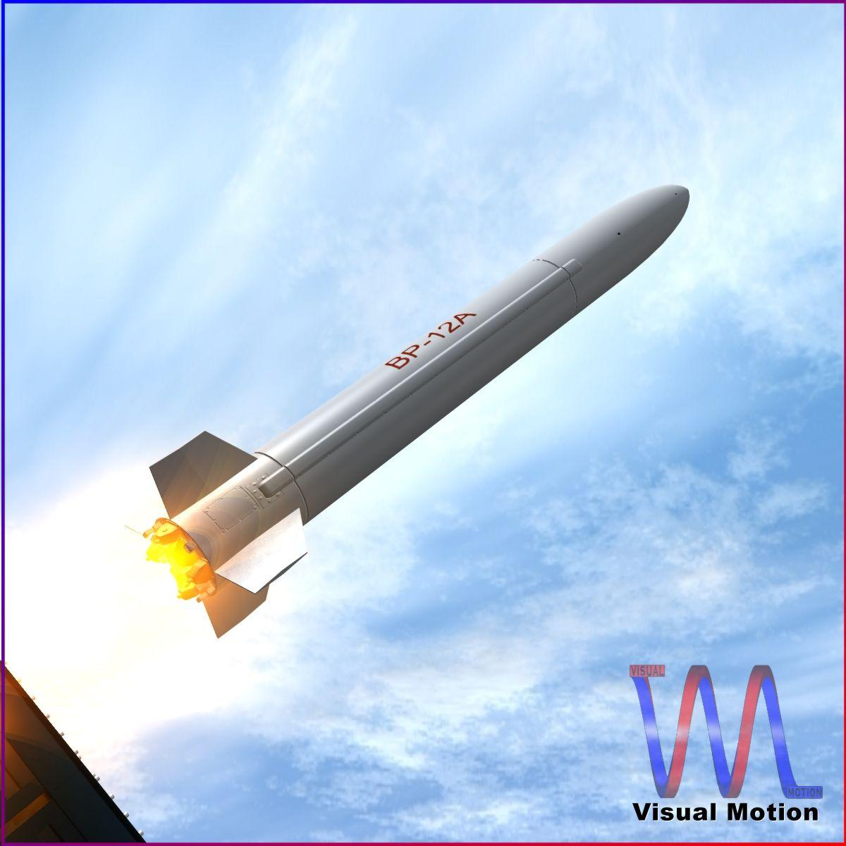 BP-12A Missile 3d model 3ds dxf fbx blend cob dae X obj 217507