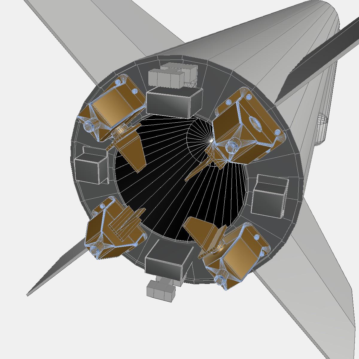 BP-12A Missile 3d model 3ds dxf fbx blend cob dae X obj 217514