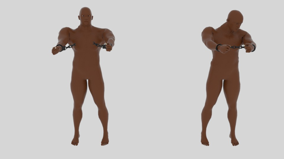 emancipation 3d model blend 217525