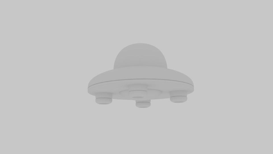 saucer ufo 3d model blend 217582