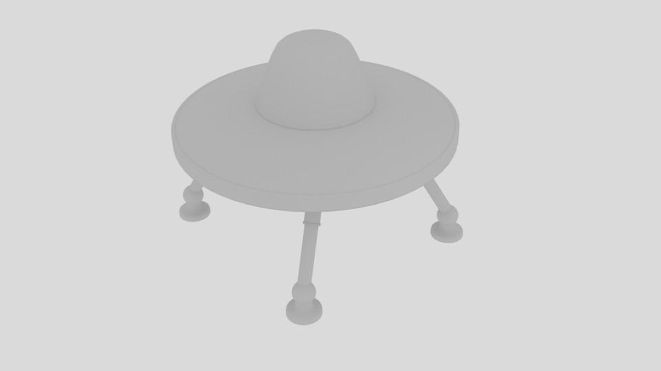 stretch ufo 3d model blend 217589