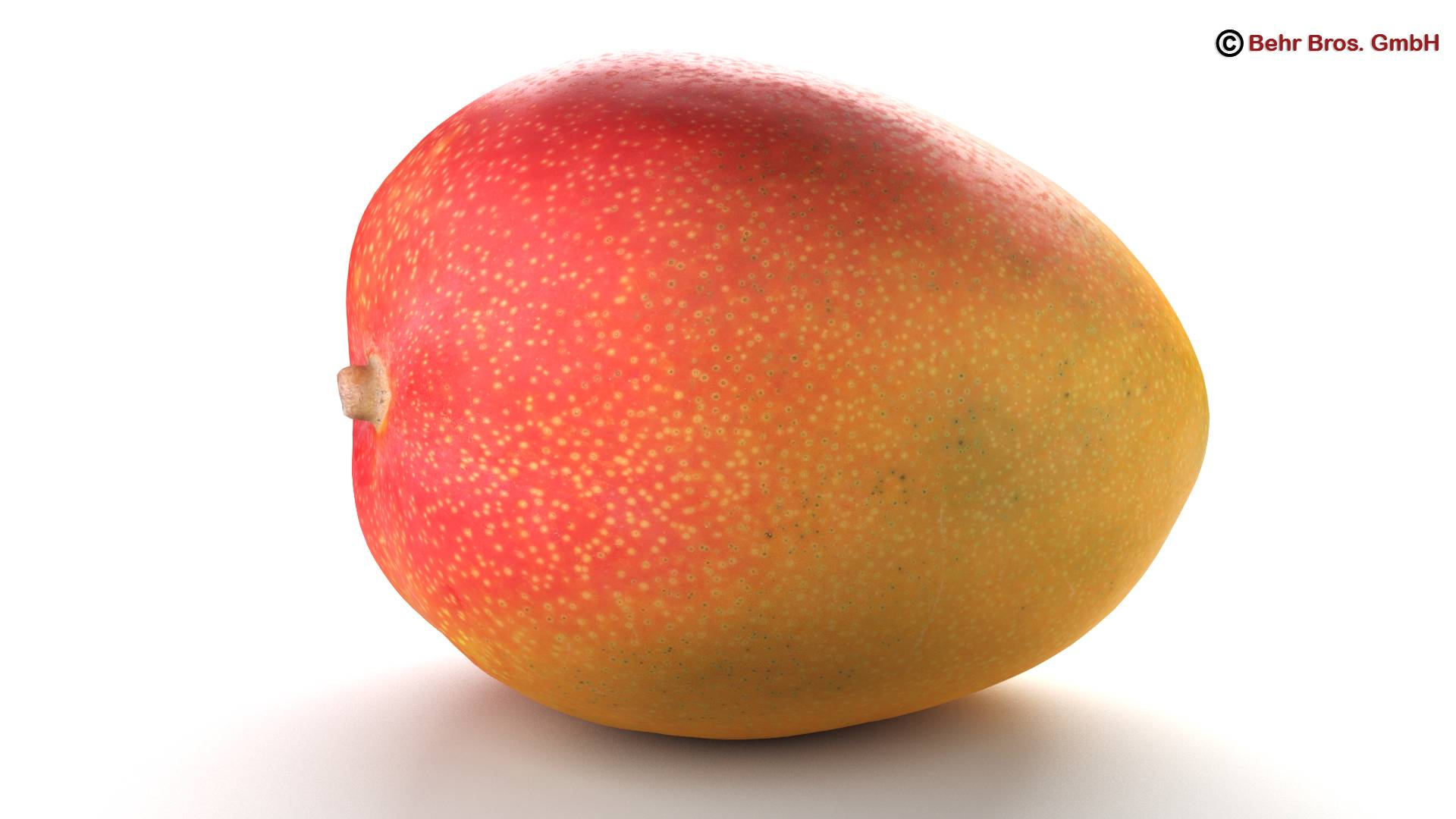 photo realistic mangos 3d model 3ds max fbx c4d lwo ma mb obj 217597