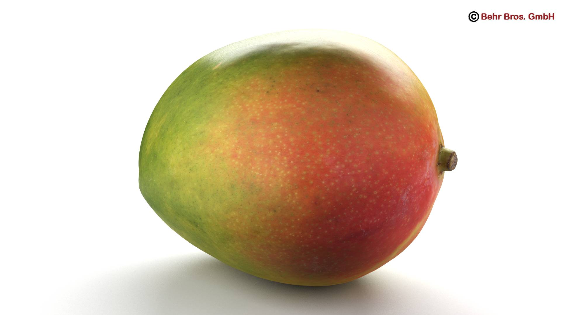 photo realistic mangos 3d model 3ds max fbx c4d lwo ma mb obj 217598