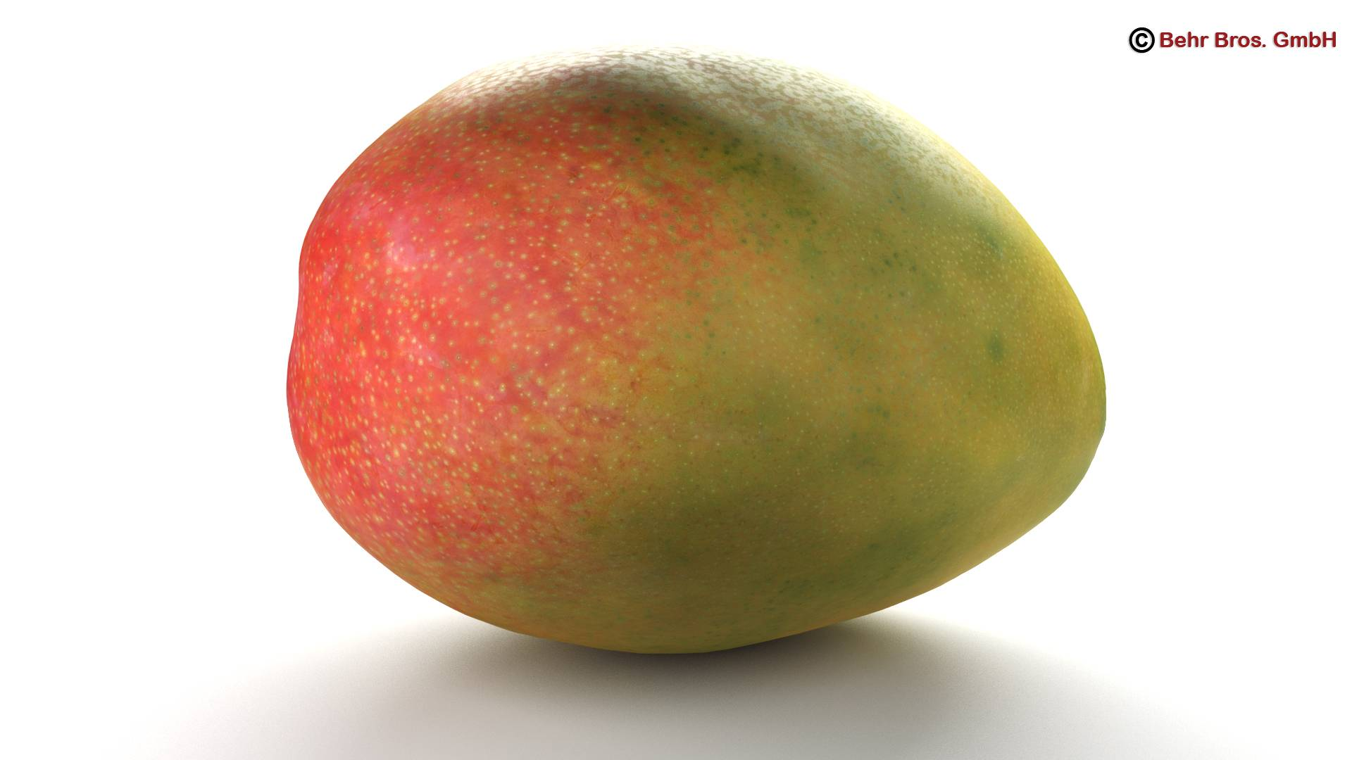 photo realistic mangos 3d model 3ds max fbx c4d lwo ma mb obj 217599
