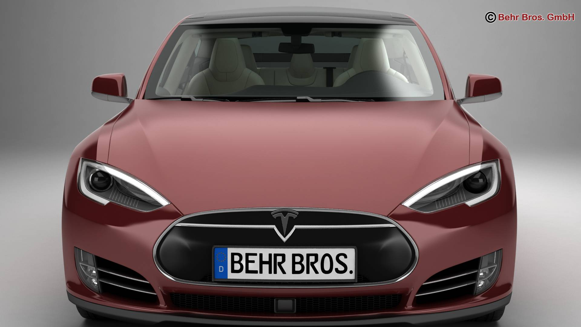 tesla model s 2015 3d model 3ds max fbx c4d lwo ma mb obj 217611