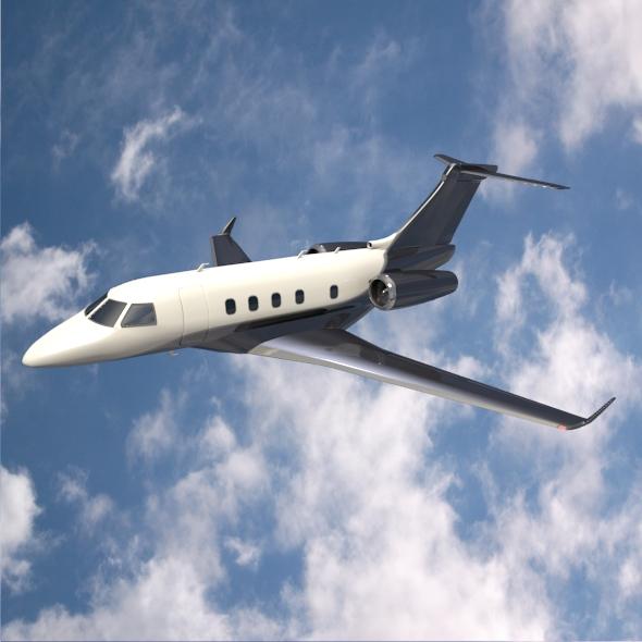 Embraer Legacy 450 business jet 3d model 3ds fbx blend dae lwo lws lw obj 217637