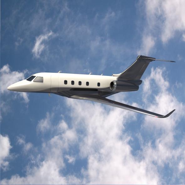 Embraer Legacy 450 business jet ( 213.2KB jpg by futurex3d )