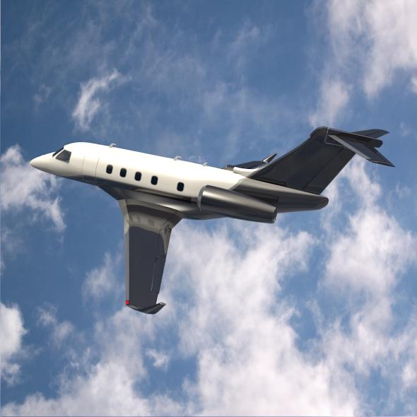 Embraer Legacy 450 business jet ( 211.74KB jpg by futurex3d )