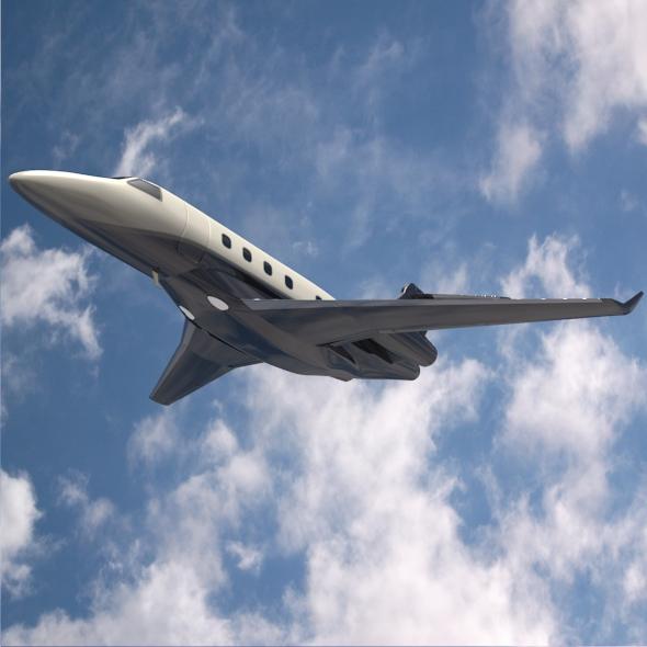 embraer legacy 450 business jet 3d model 3ds fbx blend dae lwo obj 217642