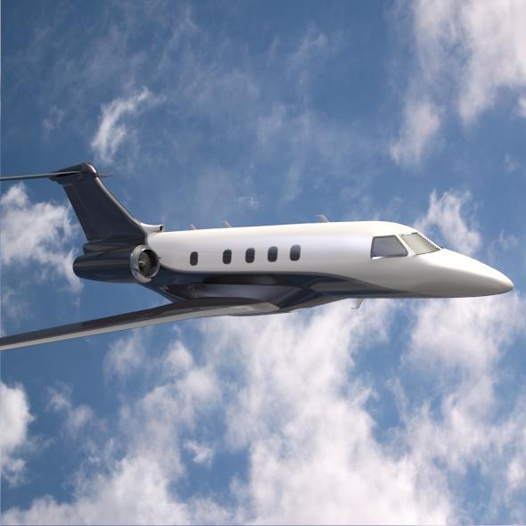 embraer legacy 450 business jet 3d model 3ds fbx blend dae lwo obj 217643