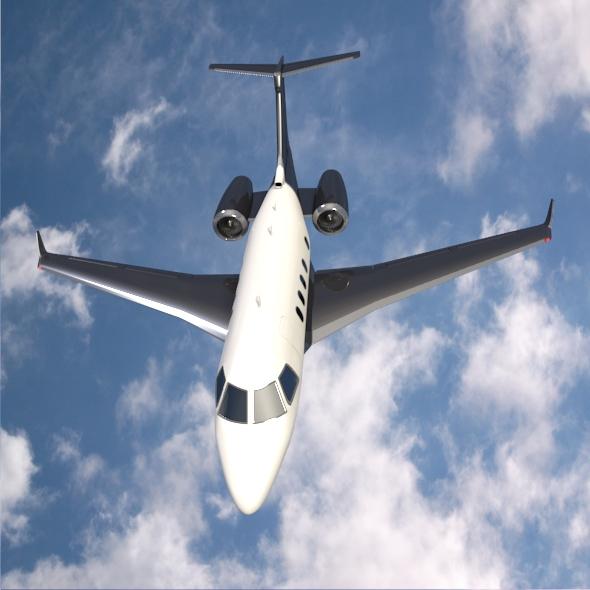 embraer legacy 450 business jet 3d model 3ds fbx blend dae lwo obj 217644