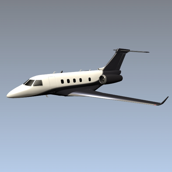 Embraer Legacy 450 business jet ( 69.88KB jpg by futurex3d )