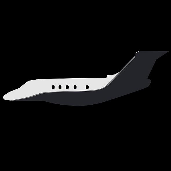 Embraer Legacy 450 business jet ( 12.55KB jpg by futurex3d )